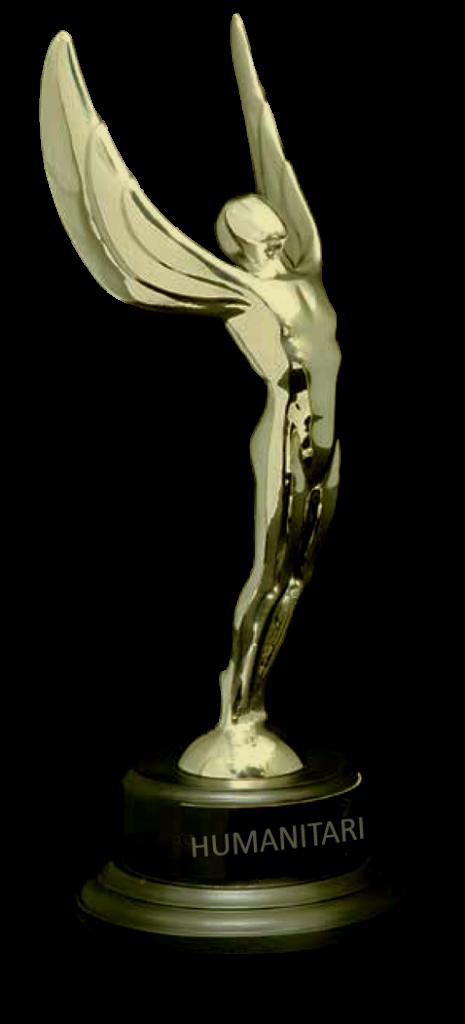 Humanitarian Award 24K Statue