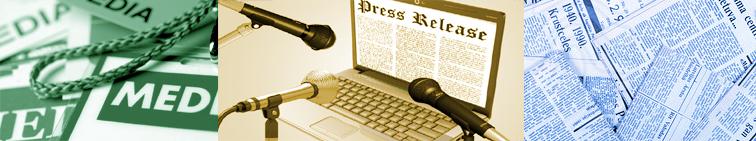 PressRelease Page Header